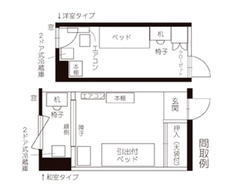 Tokyo Domitory 門前仲町 間取り2020.png